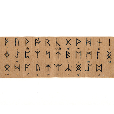 Anglo Saxon Runes  large