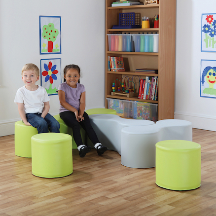Modular Seating with Magnetic Link  large
