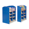Double Sided Bookcase Height 1200mm  small