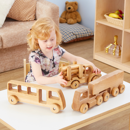 Jumbo Wooden Vehicles  large