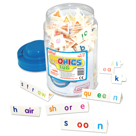 Tri\-Blocks\u00ae Phonics Tub  large