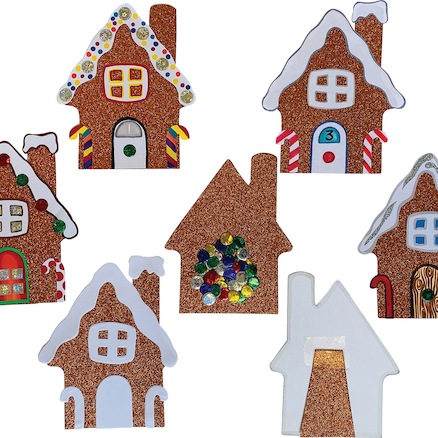 Gingerbread House Cards 30pk  large