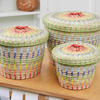 Colourful Nesting Storage Baskets 3pk  small