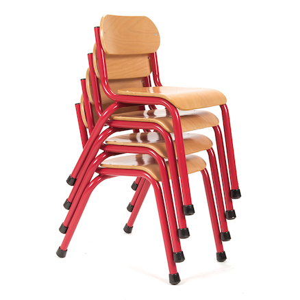 Copenhagen Furniture Classroom Set Red H210mm  large