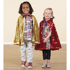 Role Play Dressing Up Glitzy Cloaks 3pcs  small