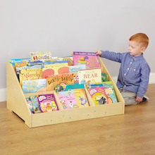 Toddler Bookcase Display Unit with Mirror  medium