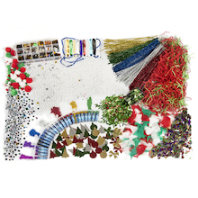 Assorted Christmas Collage Class Pack  medium