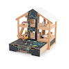 Open Plan Chalkboard Fronted Dolls House  small
