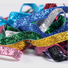 Metallic Glitter Sparkle Ribbon 2m 10pk  medium