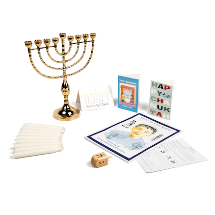 Jewish Hanukkah Festival Artefacts Collection  large