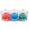 Acrylic Bowl Jar Sets  small