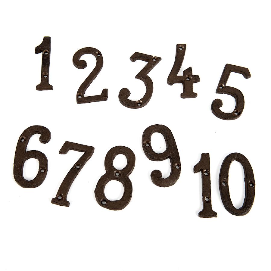 Brass numbers 1 10 large tts school resources online shop