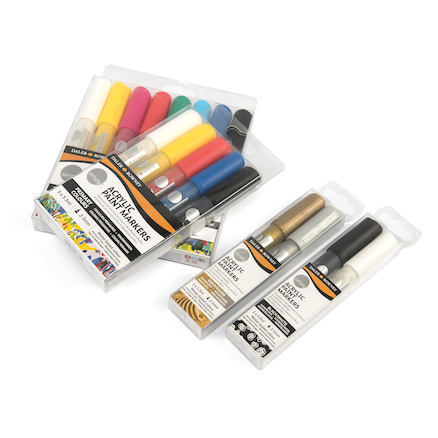Daler Rowney Simply Acrylic Paint Markers  large