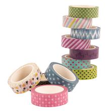 Printed Paper Craft Tapes 12pk  medium