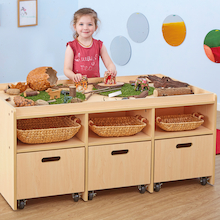 Natural Wooden Early Years Play Table  medium