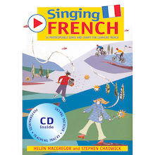 Singing French Songs Book and Audio CD  medium