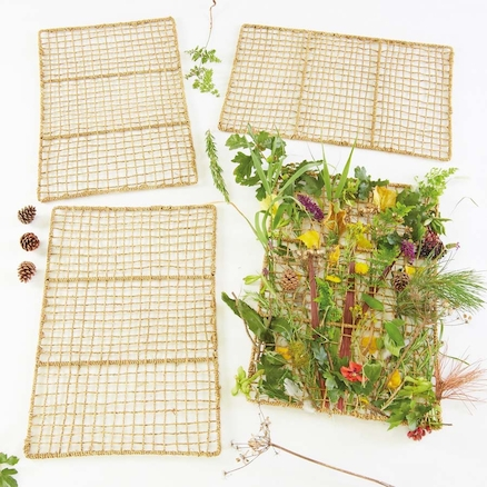 Sea Grass Weaving Frames 4pk  large