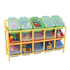 Rainbow 15 Tilt Bin Storage Unit  small