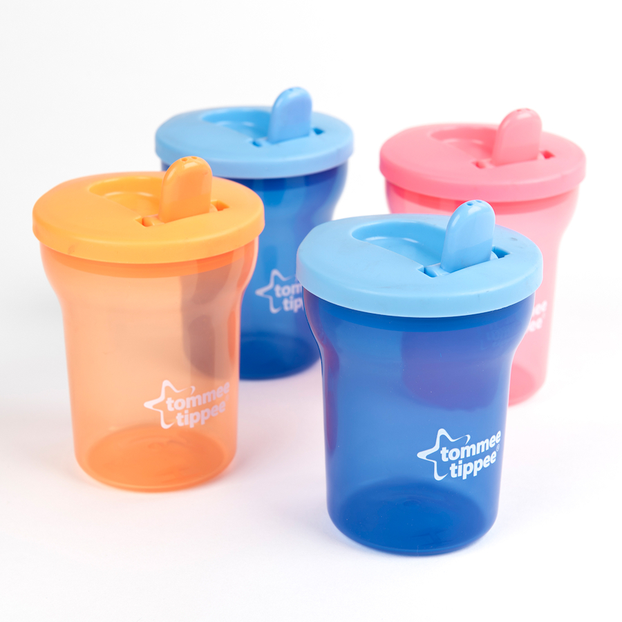 Buy Tommee Tippee Flip Top First Beakers 4pk Tts Baby Scissor With Cover Small