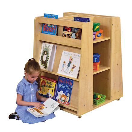 Mobile Island Bookcase  large