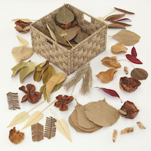 Natural Materials Foliage Basket 2kg  medium