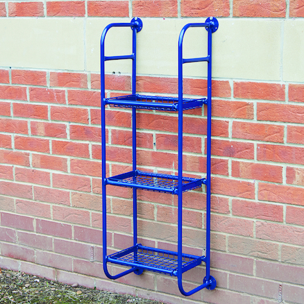 Easy Access Outdoor Metal Wall Tidy  large