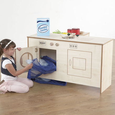 Wooden Space Saver Fold Away Kitchen Unit  large
