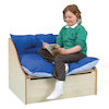 Maple Reading Corner Sofa L82 x D60 x H60cm  small