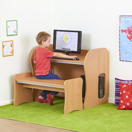 Computer Desk Height Adjustable  large