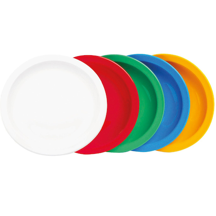Colourful Polycarbonate Plates  large