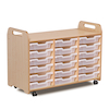 PlayScapes Three Column Tray Storage  small