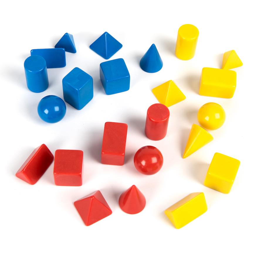 Buy 3D Shapes And Workcard Pack