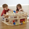Small World Wooden Multistorey Parking Garage  small