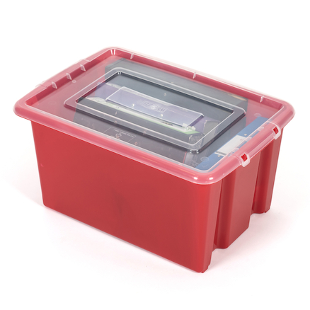 Stack and Store Plastic Storage Boxes  large