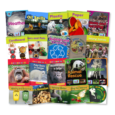 KS1 The Environment Books 20pk  large