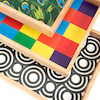 Wooden Sensory Mark Making Pattern Trays 3pk  small