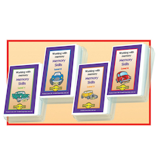 Improve Memory Skills Activity Cards  medium
