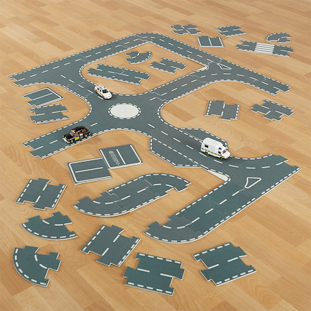 Small World Roadway System 43pcs  large