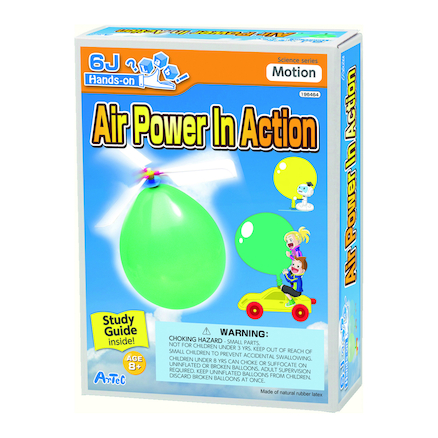 Air Power in Action Experiments Kit  large