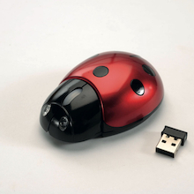 Wireless Ladybird Computer Mouse  medium