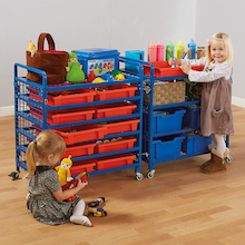 Indoor Pack Away Trolley  medium