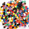 Craft Foam Assorted Mosaic Pieces 500pk  small