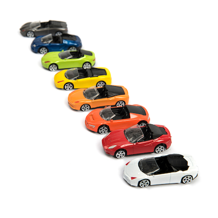 Small World Die Cast Car Set 75pcs  large