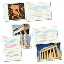 Thinking History: Ancient Greece Picture Activity Cards  medium
