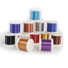 Embroidery Threads Metallic 12pk  medium