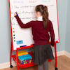 Big A Frame Easel Red W90 x H90cm  small