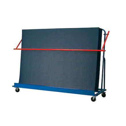 Inclined Gym Mat Trolley  large