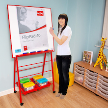 Big A Frame Drywipe Easel  medium