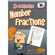No Nonsense Number Fractions Book  medium