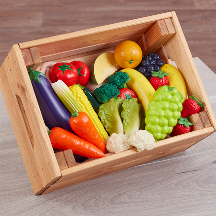 Role Play Fruit and Veg Food Set  large